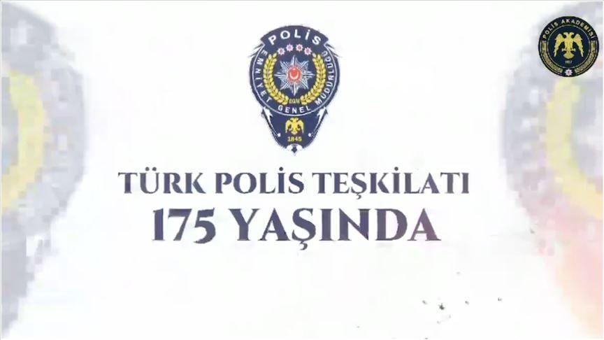 Türk Polis Teşkilatının 175. Yıl Dönümü Kutlu Olsun