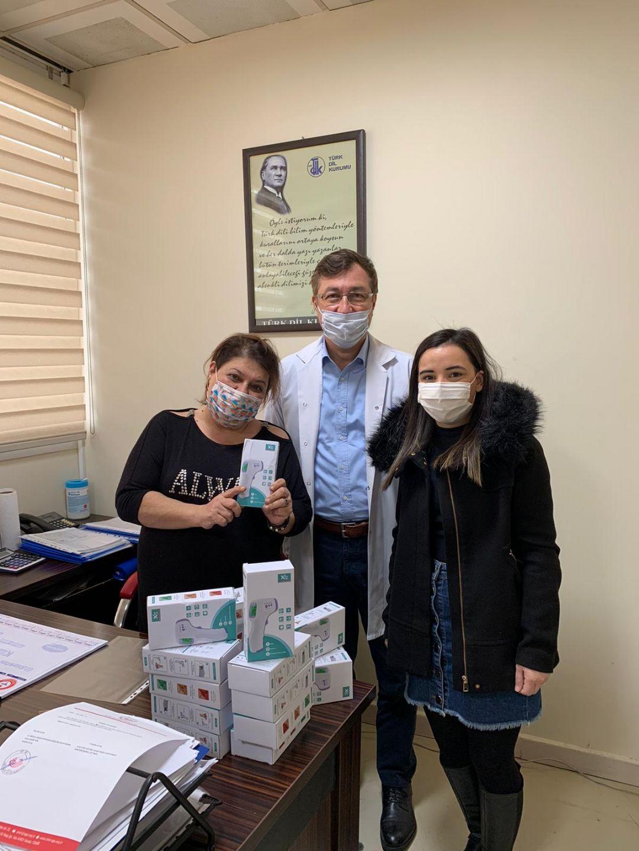 İzmir Atatürk Eğitim ve Araştırma Hastanesi'ne Ateş Ölçer Bağışı Hakkında