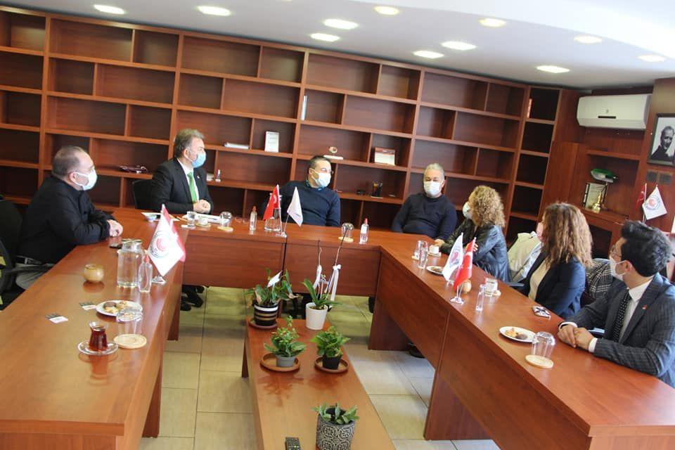 CHP Konak İlçe Başkanlığı'nın Odamızı Ziyareti Hakkında