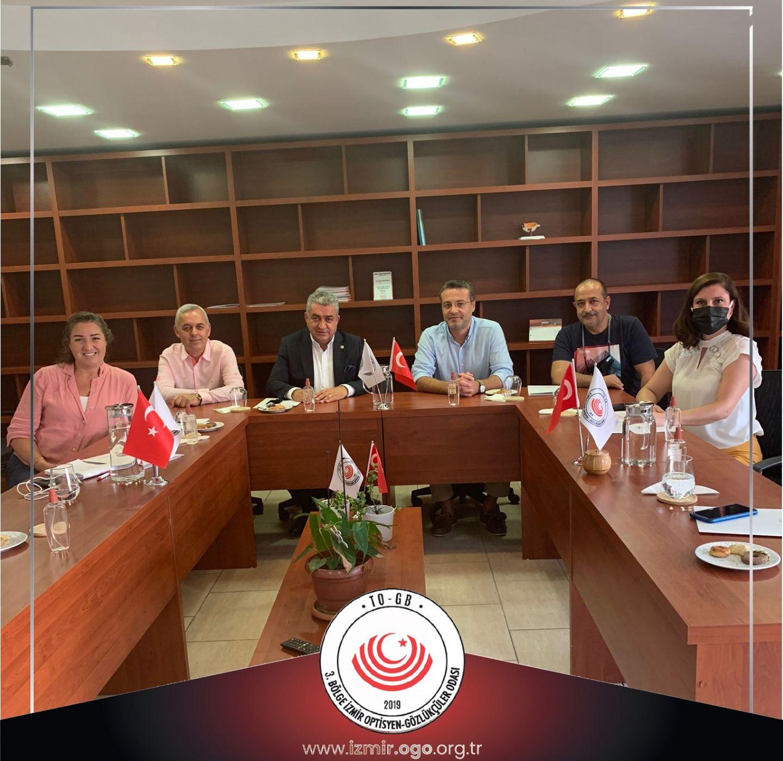 Chp İzmir Milletvekili Sayın Bedri Serter'in Odamızı Ziyareti Hakkında