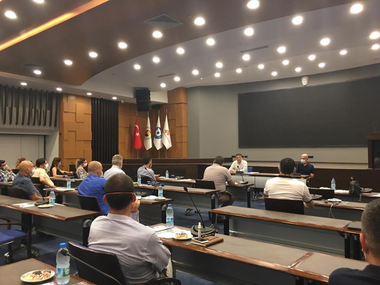 İzmir Ticaret Odasında Optik Cam Firmaları Yetkilileriyle Yapılan Toplantı Hakkında