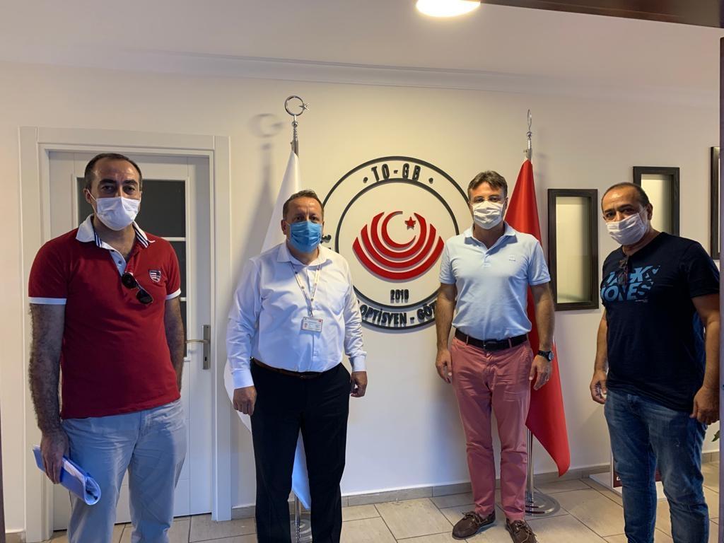 İzmir İl Sağlık Müdürlüğü Tıbbi Cihaz ve Biyomedikal Birimi Sorumlusu Sn. Murat Tuncer'in Odamızı Ziyareti Hakkında